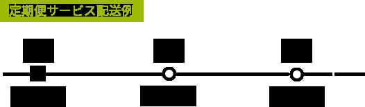 定期便サービス配送例